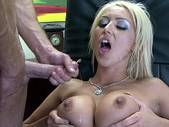 Bill Bailey fucks glamorous blonde Breanne Benson