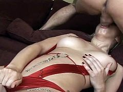 Mark Wood fucks anal hole of blonde Annette