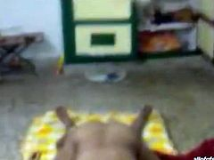 Kinky and filthy whore with awesome body and nice ass rides a cock on the floor. Have a look in steamy The Indian Porn sex clip.