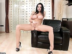 Aletta Ocean with giant tits will make you drool with her perfect body