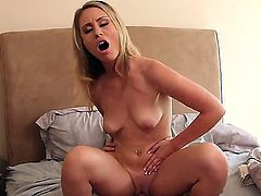 Enjoy arousing fine blonde chick Charlee Monroe fucking with Johnny Castle