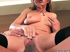 Rita Faltoyano enjoys the earth moving ass fuck