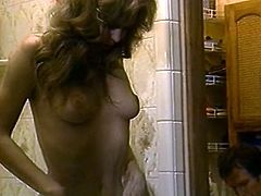 Horny and slutty bitch with nice ass and light hair sucks the dick and gets drilled in doggystyle. Watch at this hot housewife in The Classic Porn sex clip.
