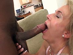 This dirty slut takes a big black cock up her pussy and tight asshole in this kick-ass scene right here, check it out, bitch!