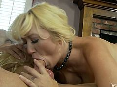 Busty MILF rides her neighbor's cock reverse cowgirl style