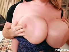 Tiffany Blake is a horny BBW with huge breast and big body. A burglar broke into her house and wanted to fuck her fat cunt in various positions to make her scream.