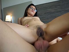 Lady Mai is a very slutty Asian and craving for sex. In this video that is titled as