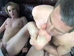 Cuckold Sessions brings you a hell of a free interracial porn video where you can see how the hot brunette slut Tweety Valentine fucks a black stud in front of her husband.