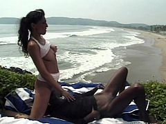 Have a look at this hot lesbian scene where these gorgeous babes have an amazin lesbian scene on the beach as they have you on the brink uf busting a nut.