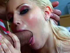Check out this blonde slut gettin' fucked hard in the classroom by her Spanish instructor, hit play and enjoy this right here, bitch!