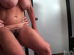 Old horny and slutty lady with big droopy tits gives a blowjob and gets drilled in doggystyle by the young guy. Watch in Fame Digital xxx clip.