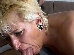 Loony aged mother has fucked large