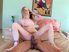 Make sure get a load of this hardcore scene where the horny blonde Kandi Hart sucks on this guy's monster cock before being fucked.
