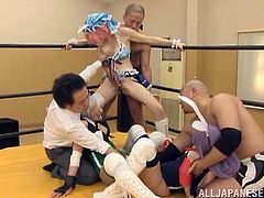 A bunch of hot fuckin' Japanese bitches suckin' dick and gettin' fuckin' nailed in this hot-ass scene right here. Enjoy!