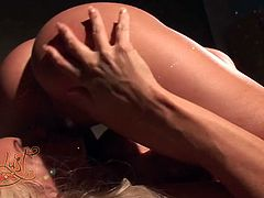 Beautiful and appetizing blondies Rhylee and Rhyese Richards get horny, take off their sexy outfits and eat one another's pussies in this passionate sex video brought to you by My XXX Pass.