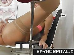 Gyno patient caught on spy camera