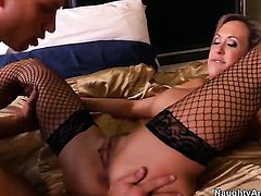 Brandi Love with giant knockers doing dirty things with hot fuck buddy Bill Bailey