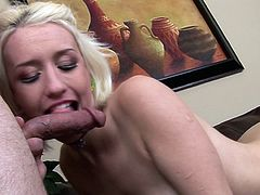 First deepthroat for young Proxy Paige