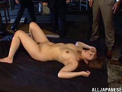 Make sure you have as look at this hardcore gangbang scene where this Asian babe is fucked until she's completely filled by semen.