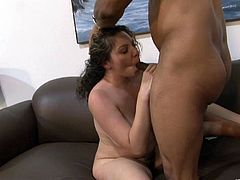 Get a load of this hardcore scene where the busty Kiki Daire sucks on this guy's big black cock before being fucked silly.