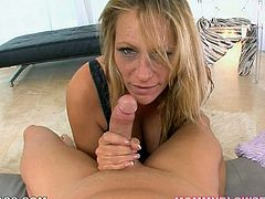 Professional blowjob is the best sex skill of Debi Diamond