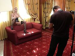 Silvia Saint opens her legs to be tongue fucked by lesbian Stacy E
