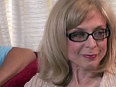 Watch these two mature milf in this hot video, where you will see them getting naked and you can see their shaved and hairy pussies.See how they rub each other pussies and fuck like crazy.
