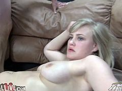 Nice titjob from big boobed and slutty Roxy Lovette