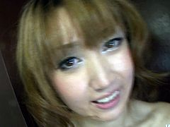 Japanese Yuki Mizuho squirting after giving head to her dude