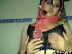 Attractive and dirty Asian babe with nice body shows her shape to her husband on cam. Have a look at this bitch in The Indian Porn sex video.