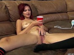 Nasty and perverted Phoenix Askani gets her pussy licked