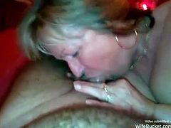 Homemade fucking shared to the world. This mature couple knows that it is never too late to let everyone see how horny they can get and what they can do for it.