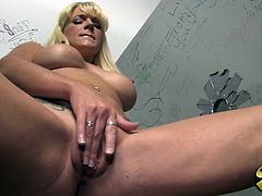 Heidi Mayne is her name and she is going to have so much fun on that big black cock! Great blowjob and nice penetration!