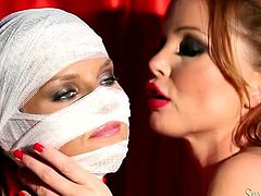 Well graced lusty brunette with gorgeous body pleases her sick fair haired babe with passionate fingerfuck and awesome cunnilingus. Watch this nice lesbian fuck in Fame Digital sex video!