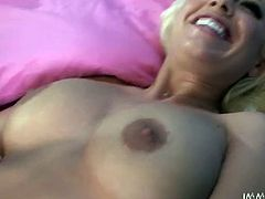 Britney Amber is one hell of a chick. She has curves in all the right places. Appetizing blonde always gets what she wants. She lifts her legs up and lets her lesbian girlfriend get a taste of her delicious pussy.