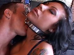 Rough bondage with busty Mason Moore