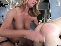 Brenda James learns more about hard anal sex from horny guy Wolf Hudson