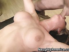 Tanya Tate is a hard dick addict and her fuck buddy James Deen knows it