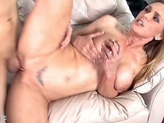Eat Sleep Porn brings you a hell of a free porn video where you can see how the vicious and tattooed blonde milf Tanya Tate gets fucked hard and deep into heaven.