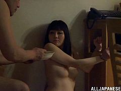 Japanese wife lets her husband toy her pussy to orgasm