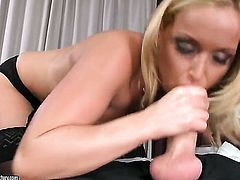 Blonde Kathia Nobili just needs her overwhelming sexual desire to be fulfilled badly