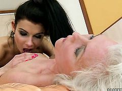 Blonde and Betty Stylle have lesbian sex of their lifetime