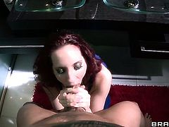 Clover wants to fuck magically sexy Kelly Divines bum forever after she takes it in her mouth