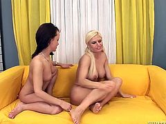 Two horny and zealous lesbian lovers please each other orally and masturbate with sex toys. Watch these sluts in Fame Digital sex clips.