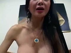 Asian Slut Ange Venus Gets Fucked