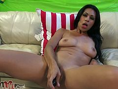 Hussy brunette pornstar Cassandra Cruz likes it hotter and inserts dildo toy deep in her muff. She fucks her snatch and starts to suck meaty pole. Just enjoy watching My XXX Pass sex tube video.