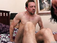 Lily Carter and hot bang buddy Erik Everhard both have fierce appetite for fucking