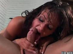 Tory Lane is known to get extremely wild and sweaty in her videos. This anal video is no different. She gives her best to please this guy and herself as well.
