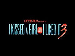 Make sure you don't miss this new movie coming straight from our partners from Devils Film - I kissed a girl and I liked it pt.3. Watch out for these young lesbian babes!