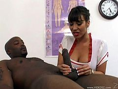And this is going to be an interracial porn video with Ava Devine. She is an Asian milf that wants a thick black cock asap! Such a perfection!